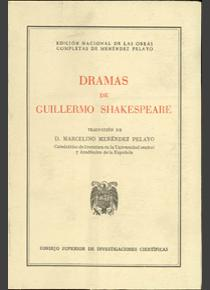 Dramas de Guillermo Shakespeare