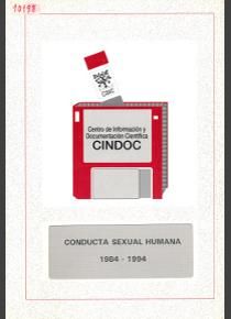 Bibliografía especializada sobre conducta sexual humana (1984-1994)