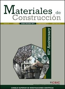 Editorial csic revistas materiales de construcci n - Materiales de construccion tarragona ...